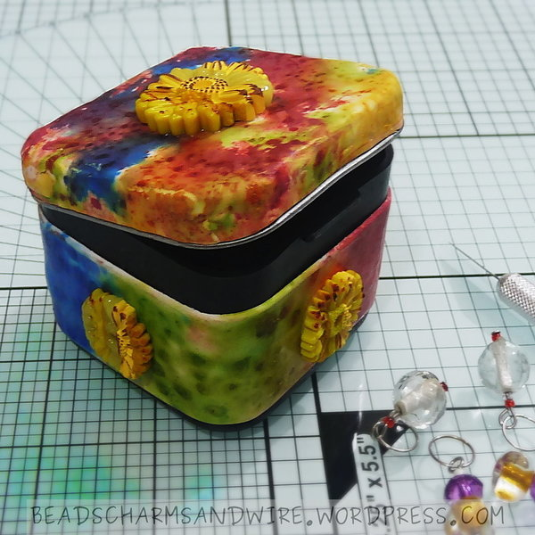 Polymer Clay Stitch Marker Case