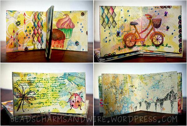 Mini Art Journal | Anita