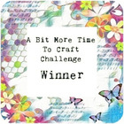 A Bit More Time To Craft - Winner